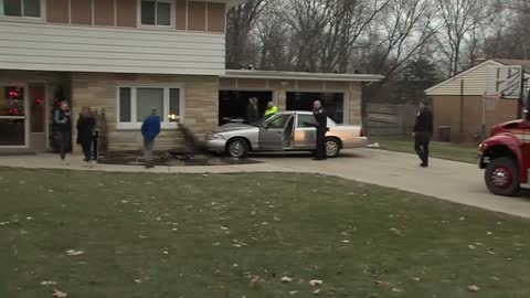 UPDATE: Driver has medical emergency, car crashes into house in Brookfield