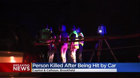 1 dead in crash near Capitol and Calhoun in Brookfield, lanes...