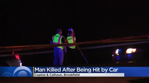 One dead in crash near Capitol and Calhoun in Brookfield