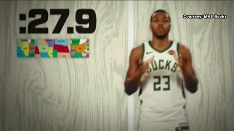 WATCH: Bucks' Sterling Brown names all 50 states in 30 seconds