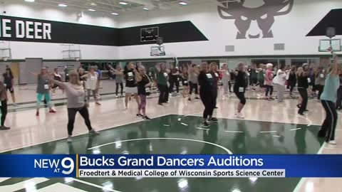 Bucks hold auditions for Grand Dancers to perform at home games