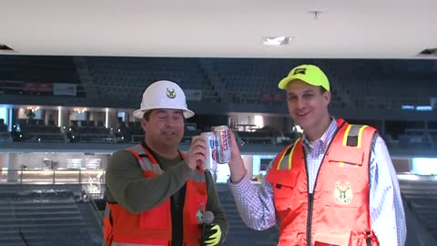 Miller named the official beer of new Bucks arena
