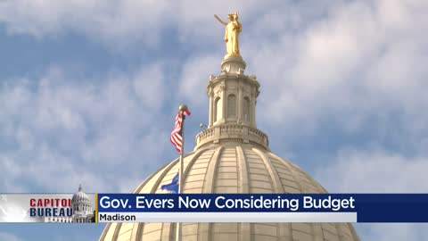 Governor Evers ready to receive budget
