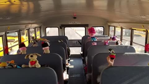 Waukesha Co. Bus Driver Crochets Toys for Every kid on Route