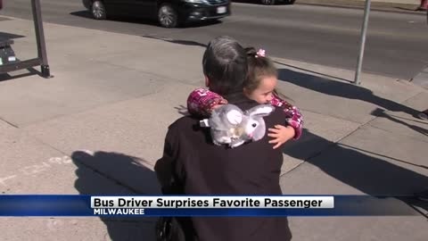 MCTS bus driver says heartfelt goodbye to 4-year-old passenger after switching routes