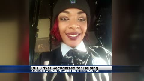 MCTS bus driver recognized for helping woman in labor on Christmas Eve
