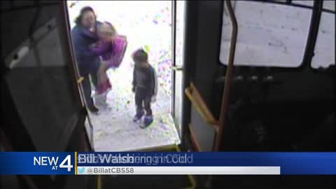 Waukesha bus driver rescues kids found wandering in the snow