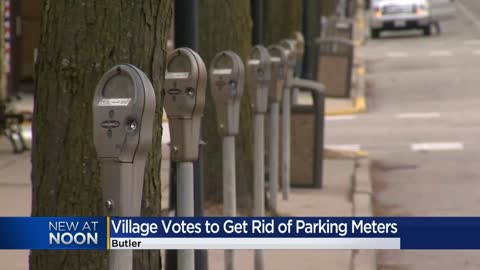 Village of Butler votes to get rid of parking meters in effort...