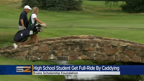 Badger High School student caddies her way to a full-ride scholarship