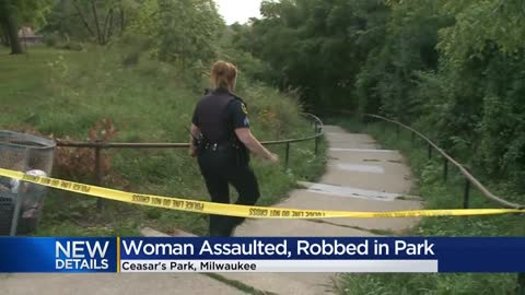 Woman injured in robbery, assault near Caesar's Park