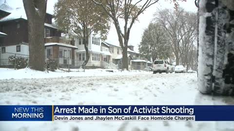 Two charged in fatal shooting of Milwaukee activist's son
