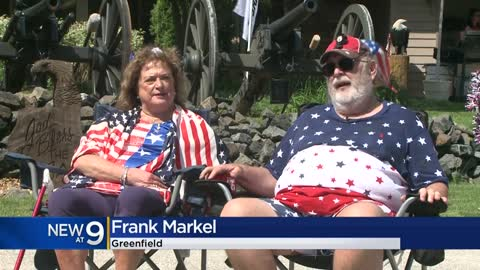 Greenfield couple compromise with city, fire cannons in Alcott Park
