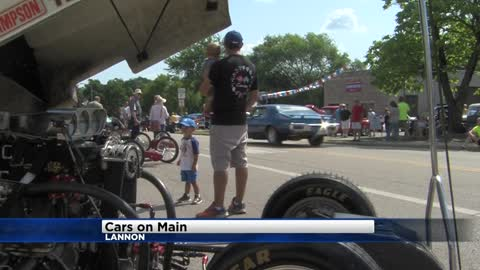 13th annual 'Cars on Main' held in Lannon