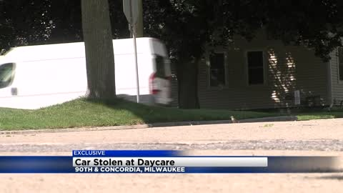 Car stolen from mother dropping children off at daycare near 90th and Concordia