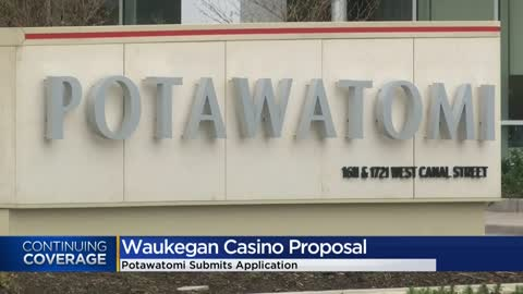 Potawatomi submits application to develop new casino in Waukegan
