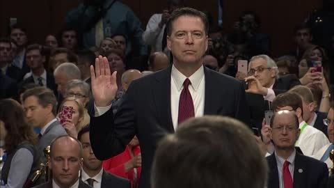 Former FBI Director James Comey testimony latest