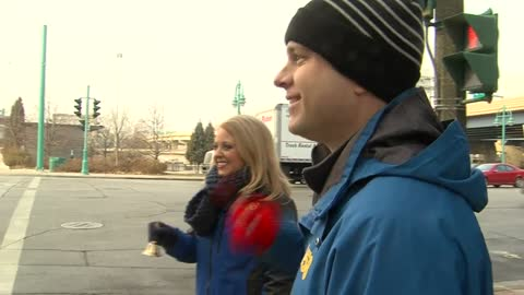 CBS 58 Morning News team rings bells for Salvation Army