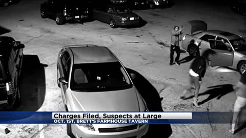 Charges filed, suspects at large following shots fired incident at Brett's Farmhouse Tavern