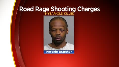 Man charged with killing 3-year-old girl in road rage shooting