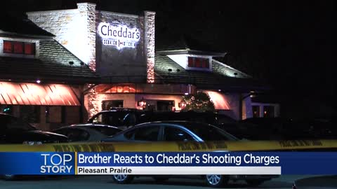 Kenosha man, 19-year-old daughter charged after fatal shooting outside Cheddar's Scratch Kitchen