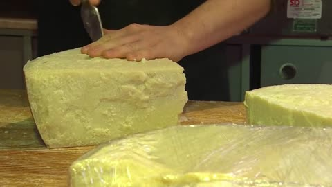 Cheese Surplus: The U.S. has about 1.4 billion pounds of cheese sitting in warehouses