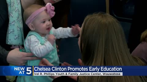 Chelsea Clinton promotes early childhood education at Milwaukee's...