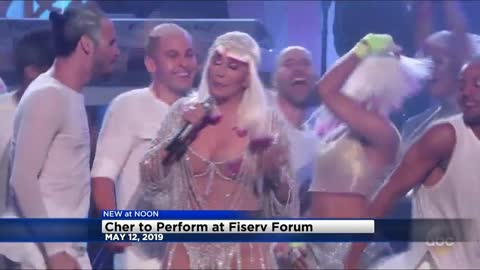 Cher to perform at Fiserv Forum May 12