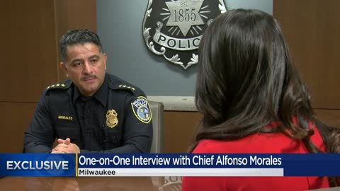 Milwaukee Police Chief Morales talks about his future