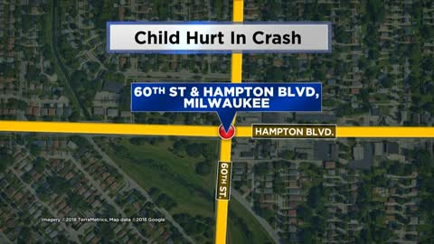 Driver arrested, four taken to hospital including 9-year-old boy after crash near 60th and Hampton
