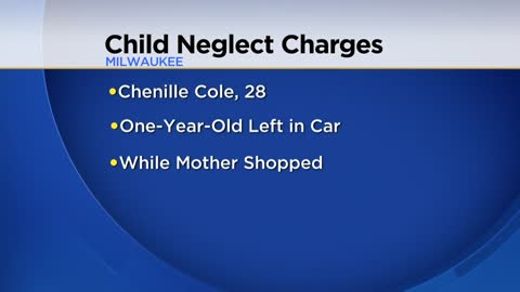 Woman charged for leaving child in car in Milwaukee