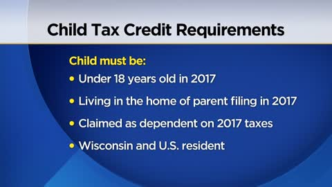 Wisconsin taxpayers can apply for child tax rebate Tuesday