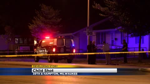 Milwaukee Police: Child expected to survive after being shot near 39th and Hampton
