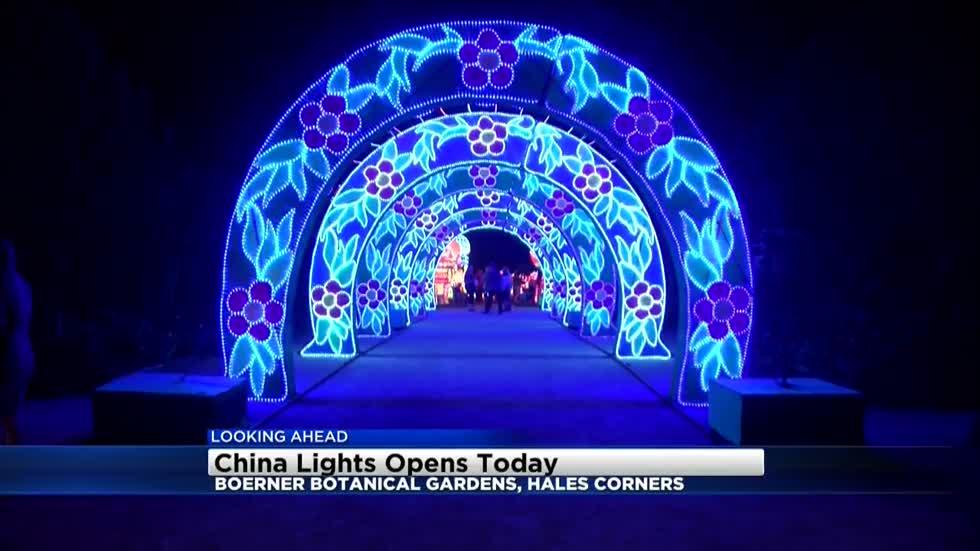 China Lights Festival Opening At Boerner Botanical Gardens September 22