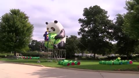 Preparations underway for 3rd annual China Lights display