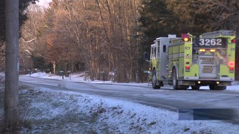 Western Lakes Fire District responds to 2 fires Christmas Day, no one hurt