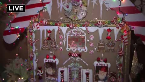 "Yuletide Spirit comes early at the ""Christmas Fantasy House"" in Brookfield"