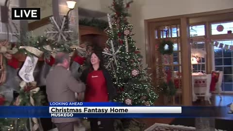 Christmas Fantasy House is all decked out & ready for your visit