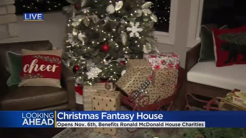 Christmas Fantasy House returns for 27th year next week