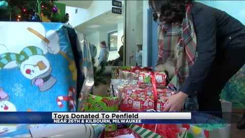Children at Penfield Children's Center receive generous donation of Christmas gifts