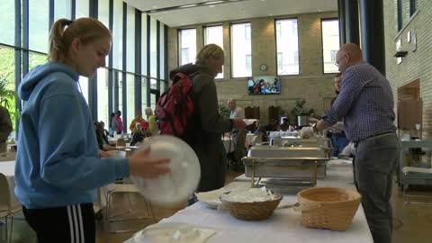 """This is for everyone who comes through the doors:"" Local church serves 750,000 meals to those in need"