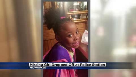 Missing 6-year-old girl dropped off at Milwaukee Police Station