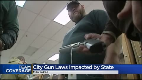 Wisconsin limits the authority of local governments to regulate firearms
