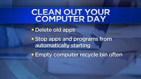 Tips on how to organize your devices on National Clean Out Your Computer Day