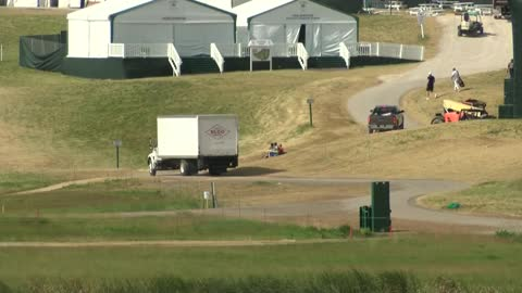 Clean up begins at Erin Hills following US Open