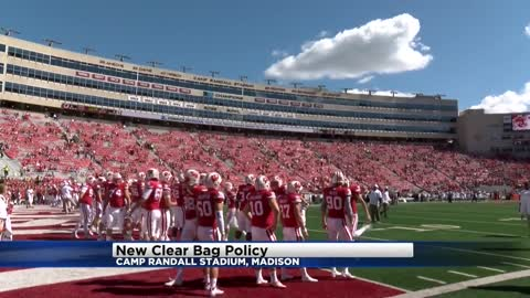 "UW announces new ""Clear Bag Policy"" for Camp Randall"