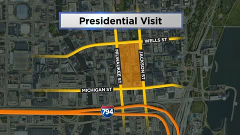 Downtown traffic, parking patterns to change Wednesday and Thursday for President Donald Trump's visit to Milwaukee