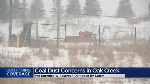 Oak Creek neighbors concerned about coal dust after fence damaged...