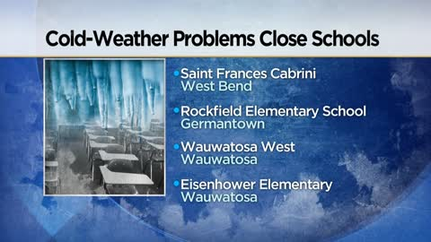 Class canceled at Wauwatosa's Eisenhower Elementary and West High School due to heating issues