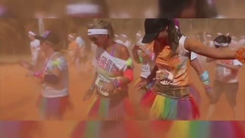 Race to Racine for the annual Color Run