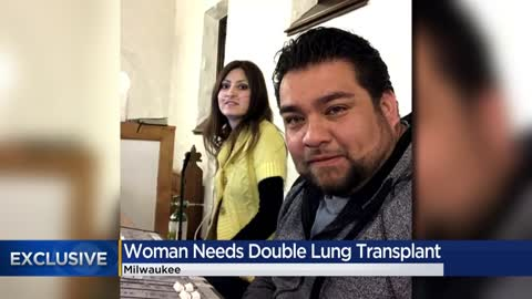 Community rallies behind Milwaukee woman in need of double lung...